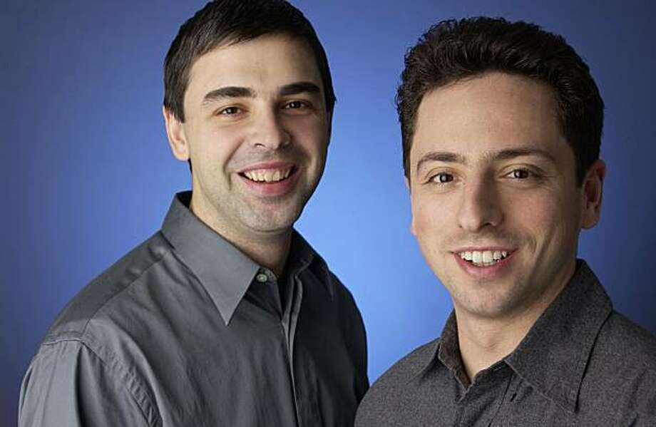 Google Inc. co-founders Larry Page (L) and Sergey Brin are shown in an undated photo. Photo: HO, REUTERS