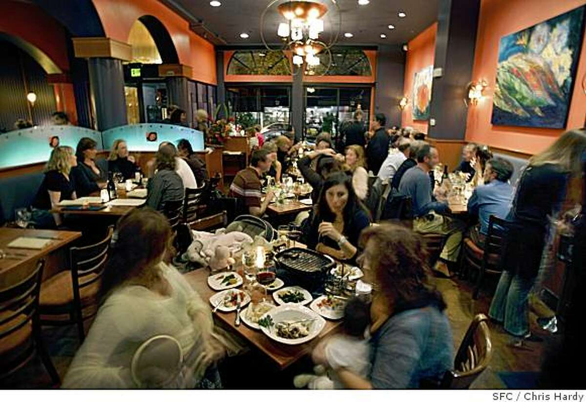 Mangarosa restaurant features excellent steaks, risotto and hearts of palm salad. 1548 Stockton St., San Francisco.
