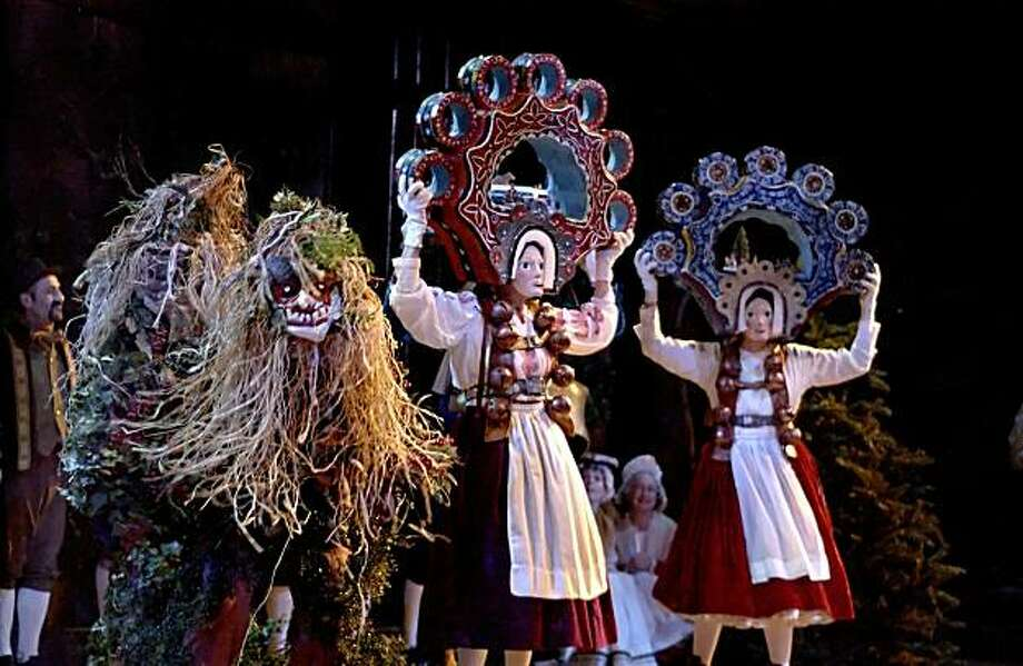 This year the Christmas Revels time-travels to 19th century Bavaria for midwinter fun. Photo: California Revels