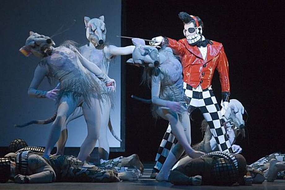 Mark Morris Dance Group performs The Hard Nut performed at Zellerbach Auditorium on the UC Berkeley Campus in 2005 in Berkeley, Calif. Photo: Peter DaSilva, Cal Performances