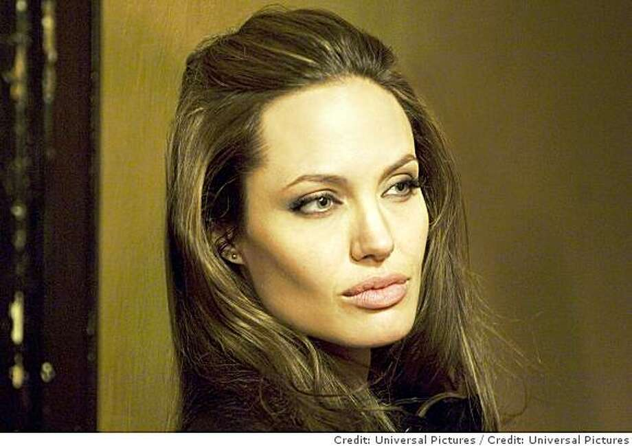 ANGELINA JOLIE as Fox in the action-thriller that tells the tale of one apathetic nobody?s transformation into an unparalleled enforcer of justice?Wanted. Photo: Credit: Universal Pictures
