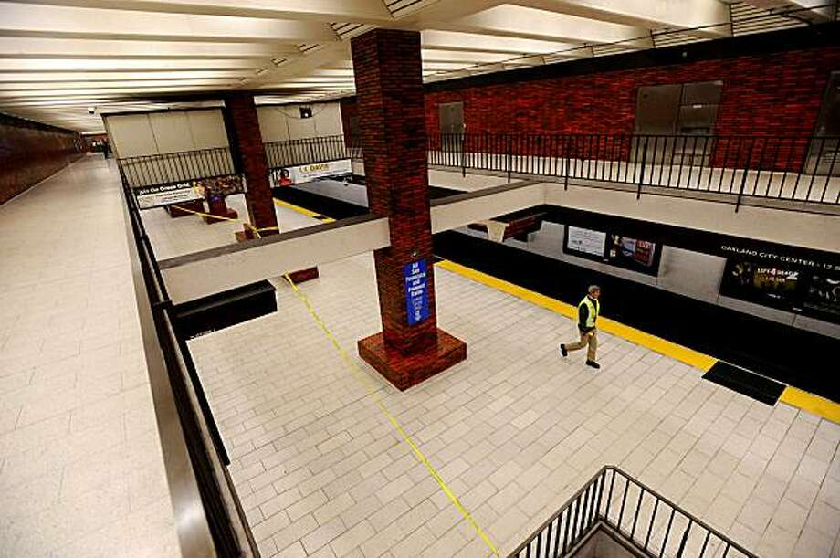 A file photo of BART's 12th Street station in Oakland. Photo: Noah Berger, Special To The Chronicle