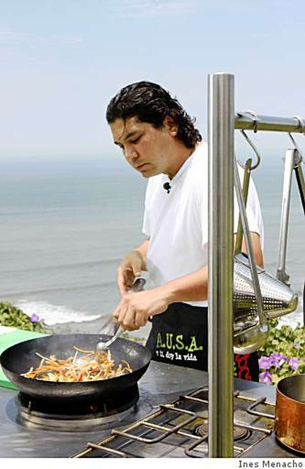 Peruvian chef Gaston Acurio is opening La La Mar, a  cebicheria along San Francisco's waterfront.ines menacho Photo: Ines Menacho