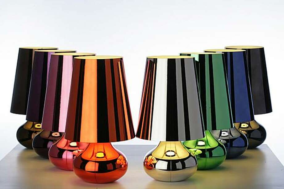 Kartell's Cindy lamp Photo: Kartell