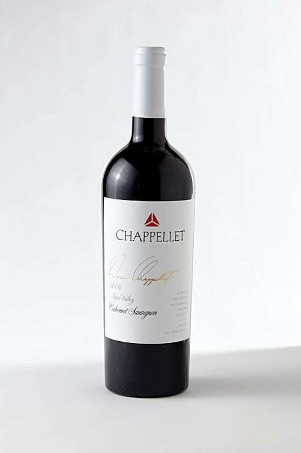 2006 Chappellet Napa Valley Cabernet Sauvignon in San Francisco, Calif., on November 17, 2009. Photo: Craig Lee, Special To The Chronicle