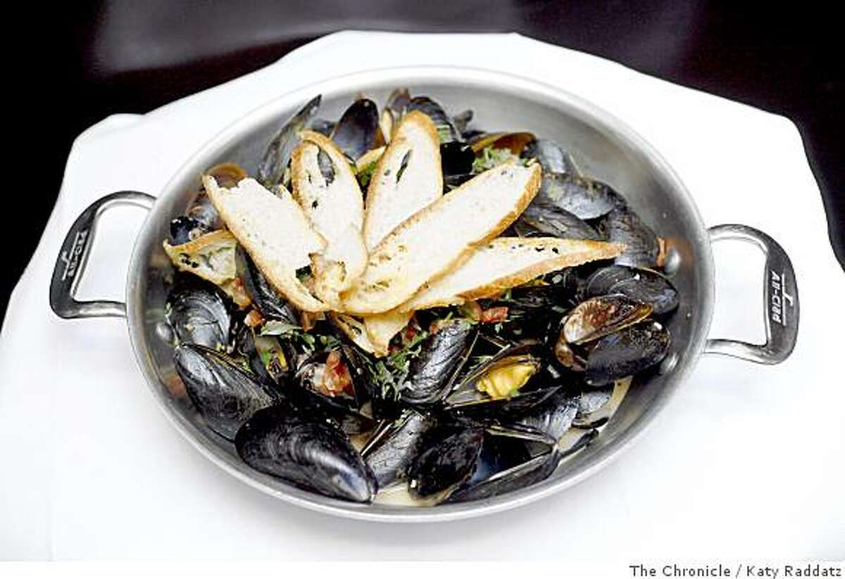 Fisherman's Mussels, served at Spruce, a restaurant at 3640 Sacramento St. in San Francisco, Calif. on June 17, 2008.Photo by Katy Raddatz / The Chronicle