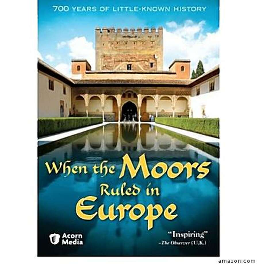 dvd cover WHEN THE MOORS RULED EUROPE Photo: Amazon.com