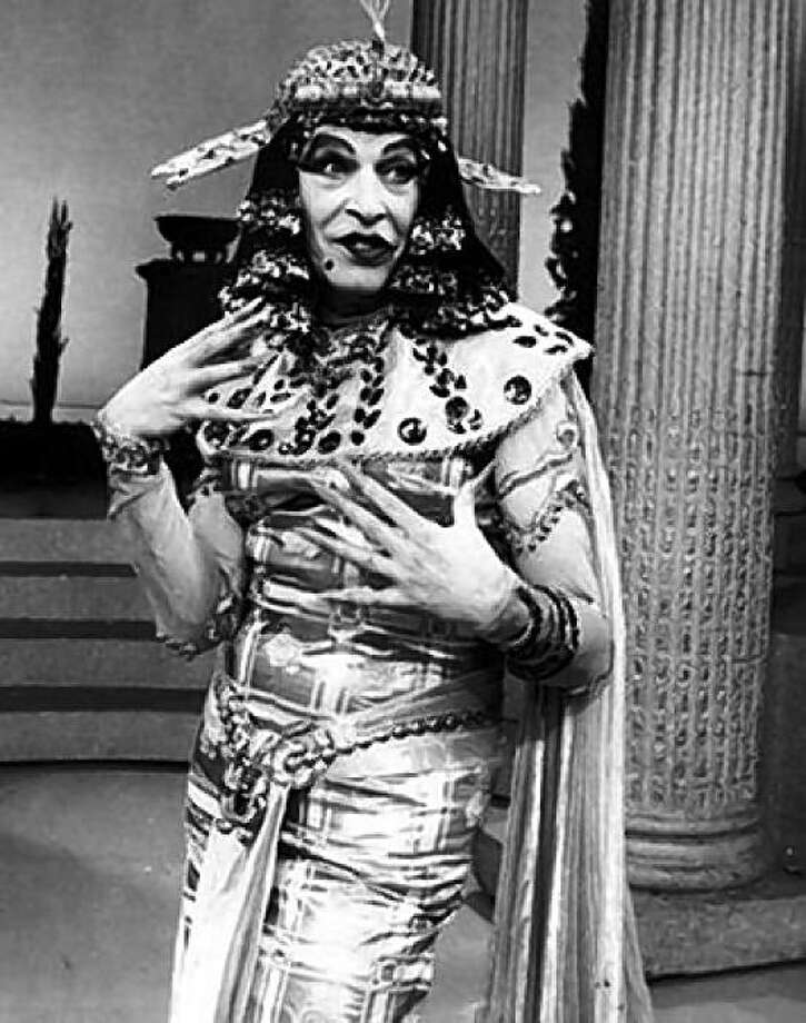 Milton Berle in drag. Photo: NBC
