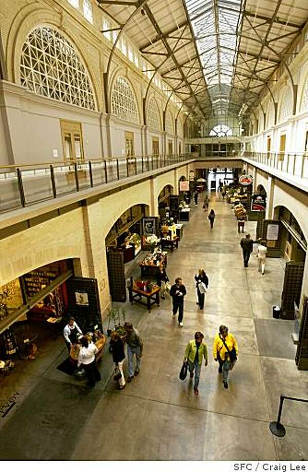 Photo of the interior above in the Ferry Building. Photo: Craig Lee, SFC