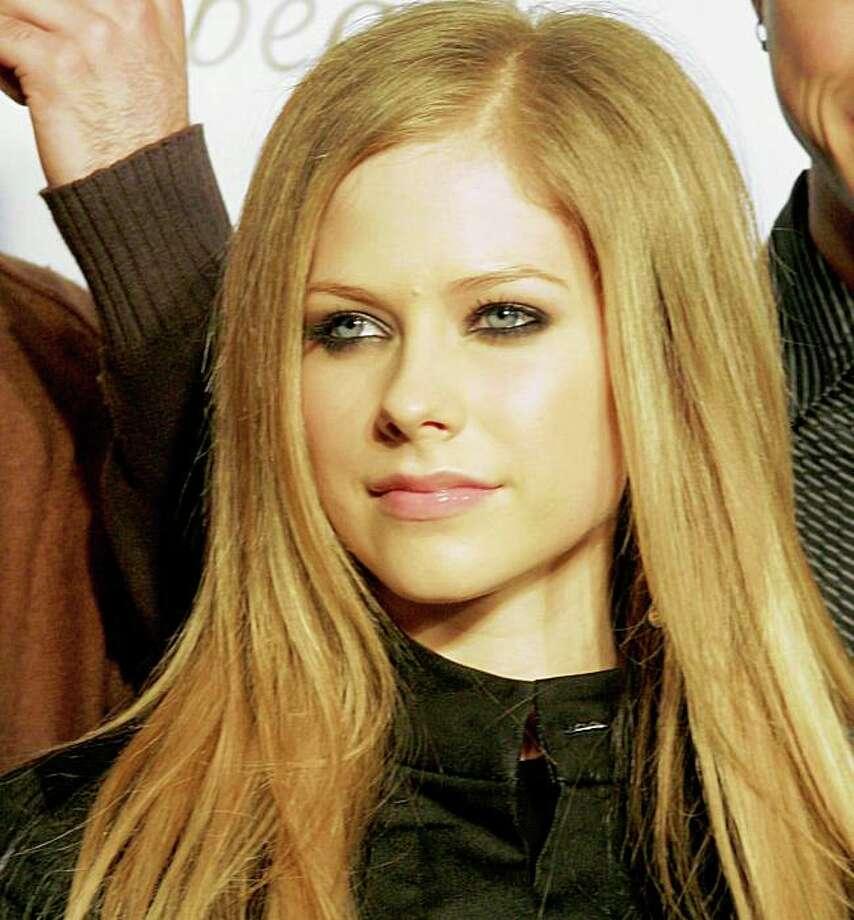Singer Avril Lavigne Photo: TINA FINEBERG, AP