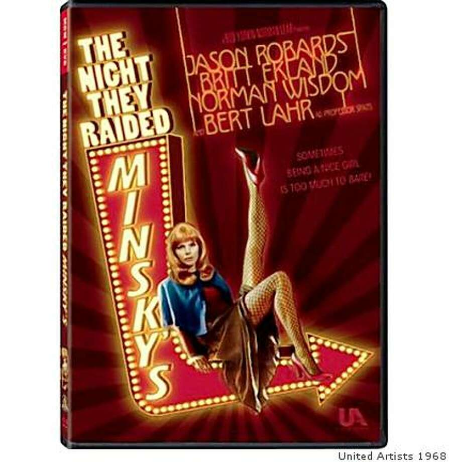 "dvd cover ""The Night They Raided Minsky's"" Photo: United Artists 1968"