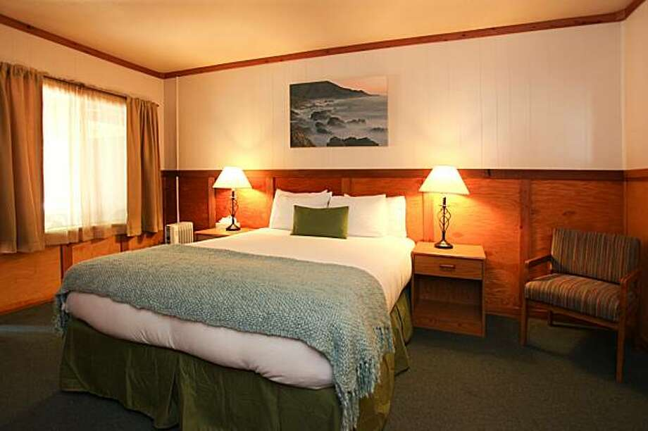 A room at the Big Sur River Inn. Photo: Courtesy Big Sur River Inn