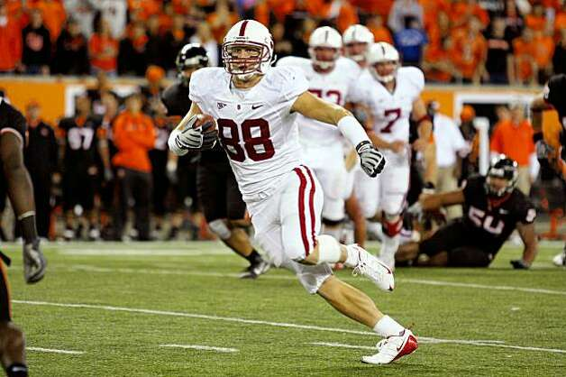 CORVALLIS, OR - OCTOBER 10: Konrad Reuland during Stanford's 38-28 loss to Oregon State on October 10, 2009 at Rezar Stadium in Corvallis, Oregon. Photo: Ethan Erickson, Stanford Athletics