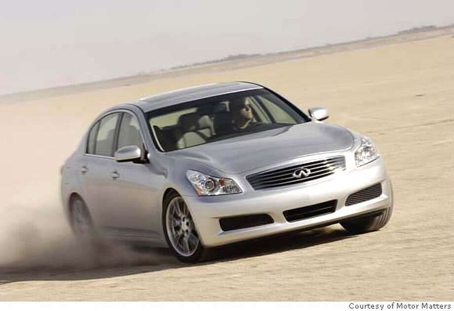 "Luxury: 2005-2010 Infiniti G35/G37What Edmunds said: ""With rear-wheel drive, a ripping V6 and sporty suspension tuning, the G35 and later G37 are Infiniti's answer to the BMW 3 Series.""Source: Edmunds Photo: Courtesy Of Motor Matters"
