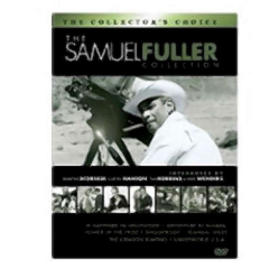 dvd cover The Samuel Fuller Film Collection Photo: Amazon.com