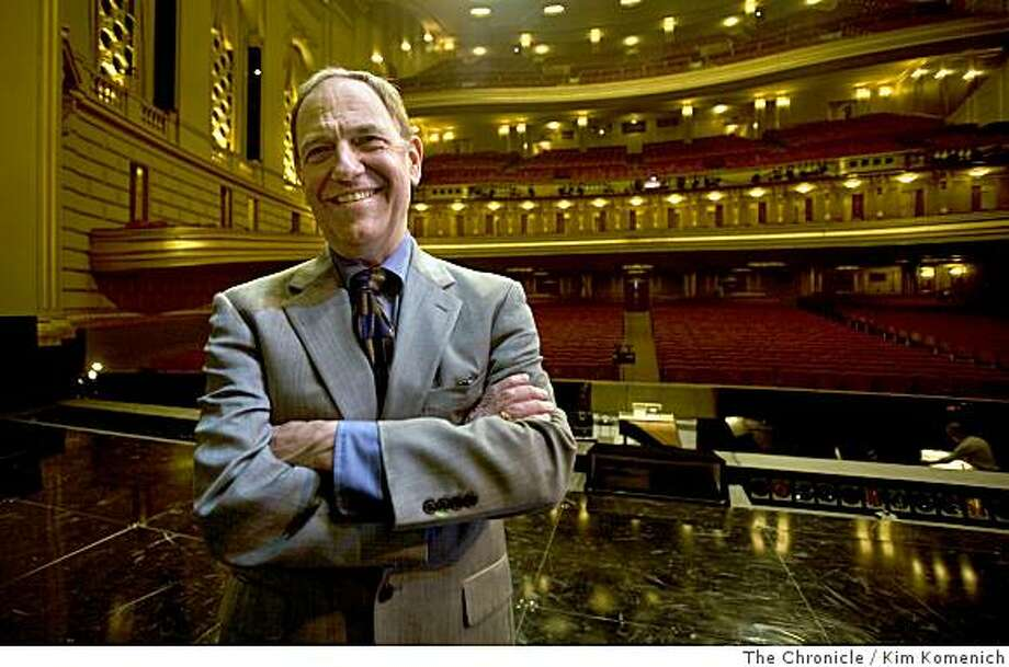 San Francisco Opera musicologist administrator and jack-of-all-trades Kip Cranna will receive the San Francisco Opera Medal in honor of his more than 30 years of service. Cranna is photographed at the War Memorial Opera House in San Francisco, Calif., on Wednesday, June 18, 2008.Photo by Kim Komenich / The ChronicleKip Cranna, who's been with the SF Opera for nearly 30 years as a musicologist, administrator and general operatic jackof-all-trades, is getting the SF Opera medal, so we're going to run a profile of him to let folks know what goes on behindthe scene. Photo: Kim Komenich, The Chronicle