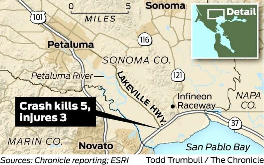 Family of 4, driver killed in Hwy  37 crash - SFGate
