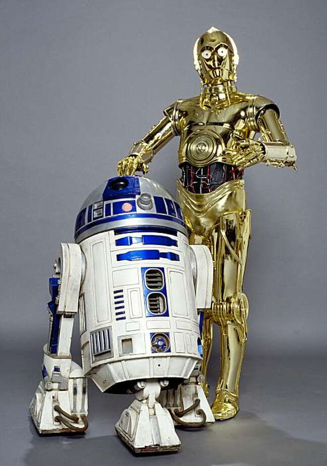 "The two Star Wars ""droids"" of R2-D2 and C-3PO. Photo: Lucasfilms Ltd."