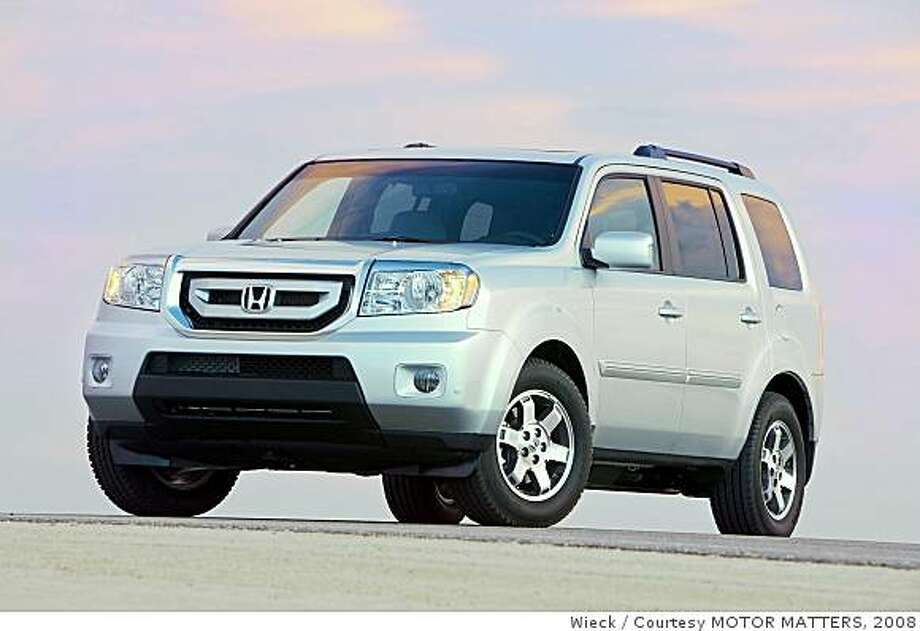 2009 honda pilot is all new bigger and more powerful sfgate. Black Bedroom Furniture Sets. Home Design Ideas