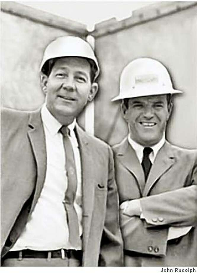 Onslow ?Rudy? Hamilton Rudolph Jr., left, a Bay Area construction magnate, has died. Pictured here with business partner Kenneth G. Sletten. Photo: John Rudolph