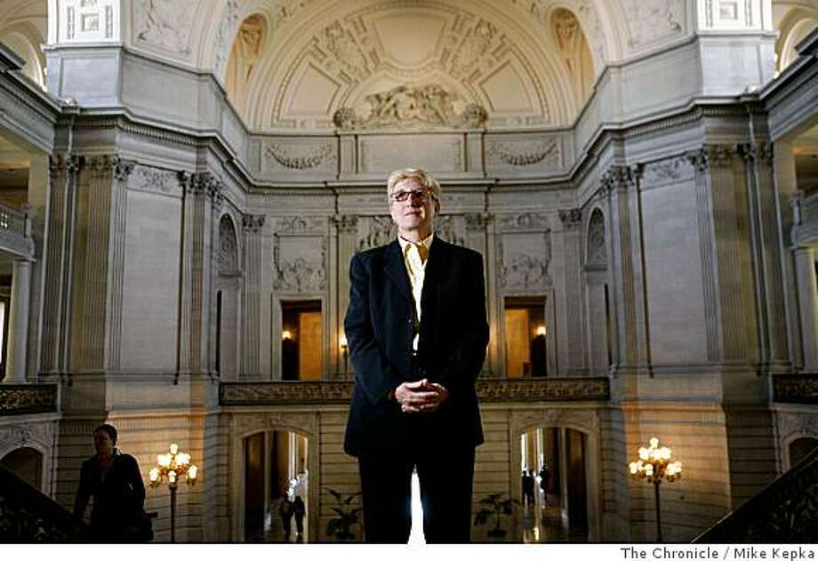 Therese Stewart, Chief Deputy City Attorney for the City and County of San Francisco, poses for a portrait in City Hall on Wednesday, March 11, 2008 in San Francisco, Calif. Stewart was part of a team attorneys who help win the same-sex marriage case in the California State Supreme Court.Photo by Mike Kepka / The Chronicle Photo: Mike Kepka, The Chronicle