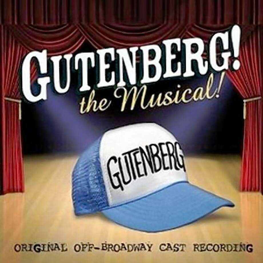 CD cover: Gutenberg! The Musical! Photo: PS Classics