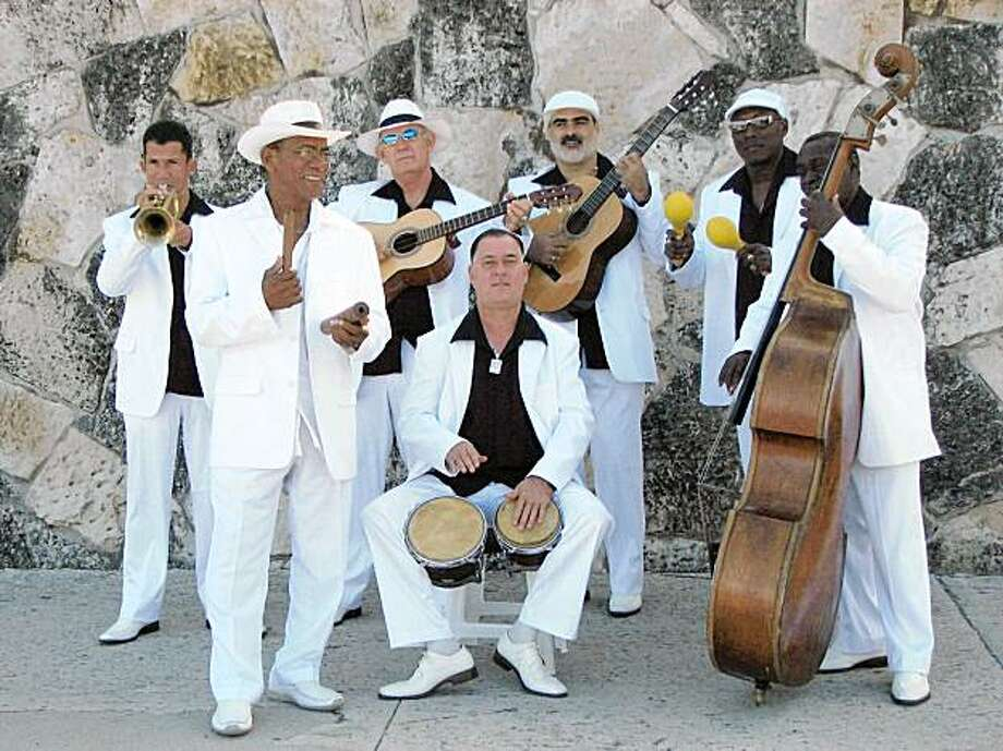 The Cuban ensemble Septeto Nacional Photo: Yoshi's