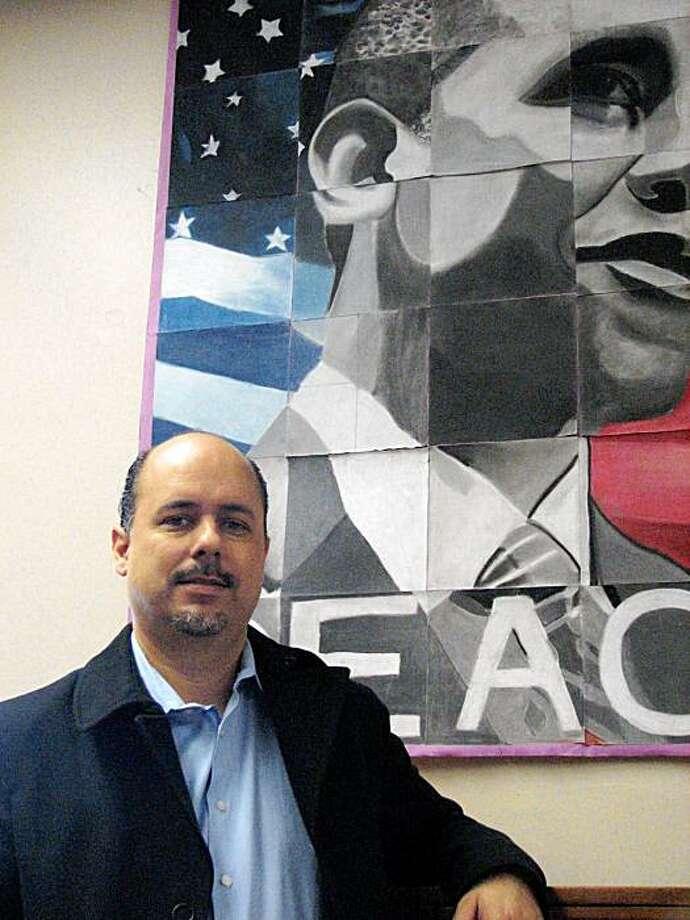 Mark Sanchez, principal Horace Mann Middle School Photo: Jill Tucker, The Chronicle