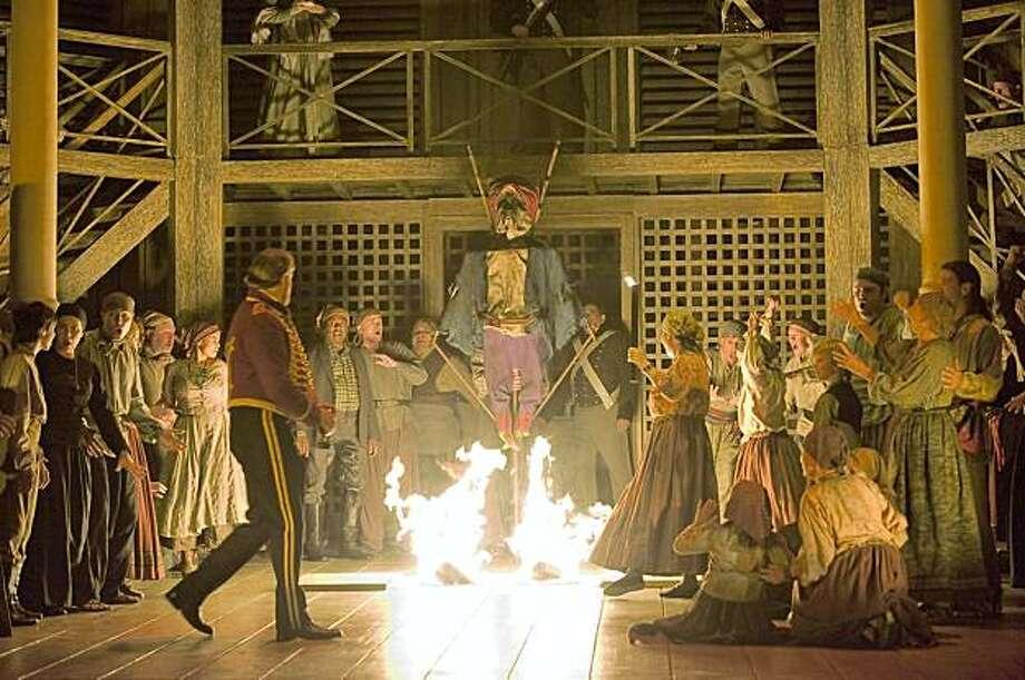 "Act 1 of Verdi's ""Otello"" at San Francisco Opera Photo: Terrence McCarthy"