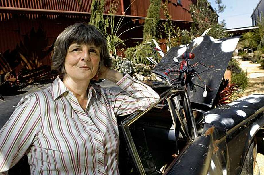 Artistic Director of The San Francisco Silent Film Festival Anita Monga is seen at Flora Grubb Gardens in San Francisco, Calif. on Monday, September 21, 2009. Photo: Lea Suzuki, The Chronicle