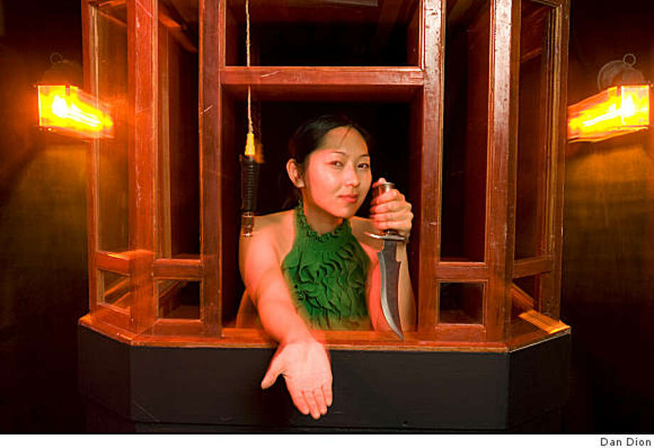 "Carol Rhyu plays the Matron in ""Heist a Crow"" Photo: Dan Dion"