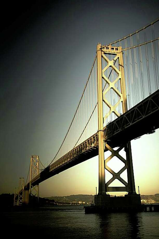 The Bay Bridge as seen from the Embarcadero in San Francisco. Photo: Hal Bergman, IStockphoto.com