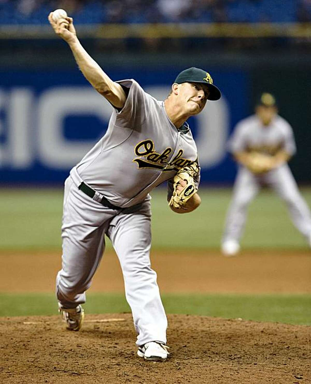 Andrew Bailey was an All-Star closer for the A's from 2009-2011. He is the Giants' new pitching coach.