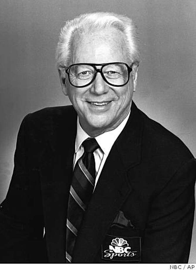 A 1990 photo, location not known, provided by NBC shows sportscaster Charlie Jones. Jones, whose career as a play-by-play announcer spanned 38 years for ABC and NBC, died Thursday, June 12, 2008, of a heart attack at his home in the La Jolla area of San Diego, his longtime agent, Martin Mandel, said. Jones was 77. (AP Photo/NBC) ** NO SALES ** Photo: AP, NBC