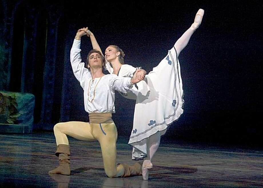 embedded Maximo Califan is Frederic, The Pirate Apprentice, and Alexsandra Meijer is Mabel, The Lovely, in Daryl Gray's PIRATES OF PENZANCE! Photo: Courtesy, Robert Shomler