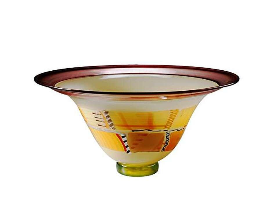 Glassware from Pizzichillo-Gordon Art Glass Studio. Photo: Pizzichillo-Gordon