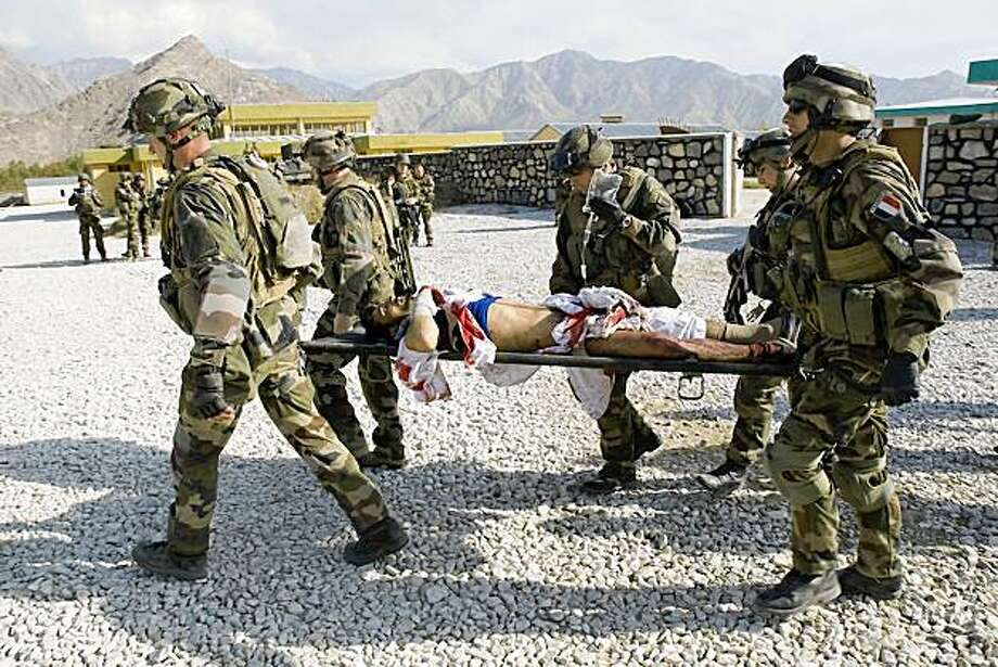 French, Afghan troops increase battles - News - The St