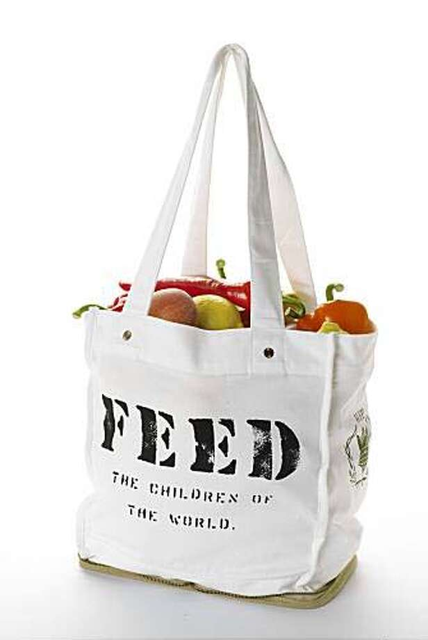 Feed 100 bag from Whole Foods, designed by Lauren Bush Photo: Unknown