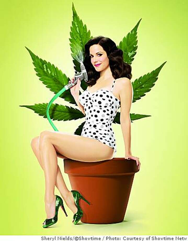 "Mary-Louise Parker as Nancy Botwin  in Showtime's ""Weeds."" Photo: Photo: Courtesy Of Showtime Netw, Sheryl Nields/�Showtime"
