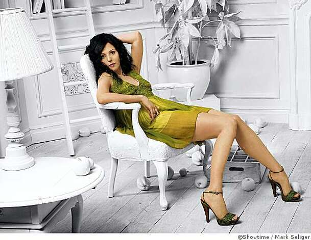 Mary-Louise Parker as Nancy Botwin - Photo: Mark Seliger/Showtime - Photo ID: weeds_gal3-mlp_white_room1 Photo: Mark Seliger, �Showtime