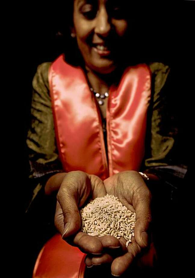 """Dipika Matthias, director of ,""""PATH"""" has created an ultra-rice which is an affordable, nutrient-fortified additive to standard rice, tailored to satisfy deficienies common in the region it is distributed.""""PATH"""" is a laureate of the 2009 Tech Awards in  San Jose, Calif.  on Thursday November 19, 2009. Photo: Michael Macor, The Chronicle"""
