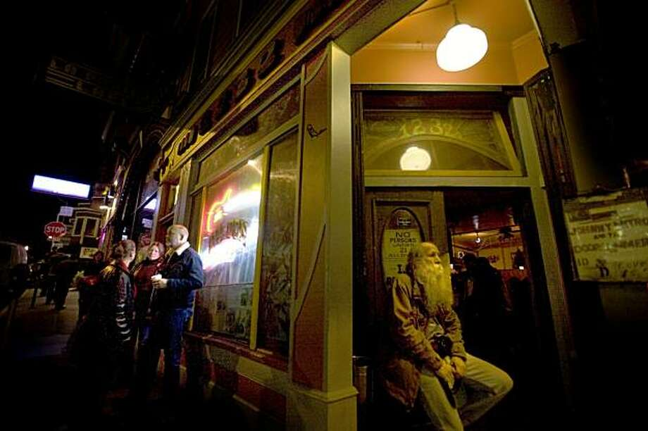 The Saloon, at 1232 Grant Ave. and Fresno Alley, was established in 1861 and is one of the oldest bars in San Francisco, Calif. Photo: Adam Lau, The Chronicle
