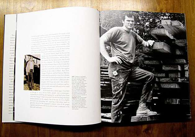 Images of the inside of Thomas Moser's book, Artistry in Wood Photo: Courtesy, Thos. Moser