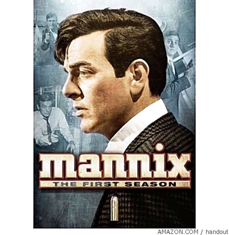 dvd cover MANNIX: THE FIRST SEASON Photo: Handout, AMAZON.COM