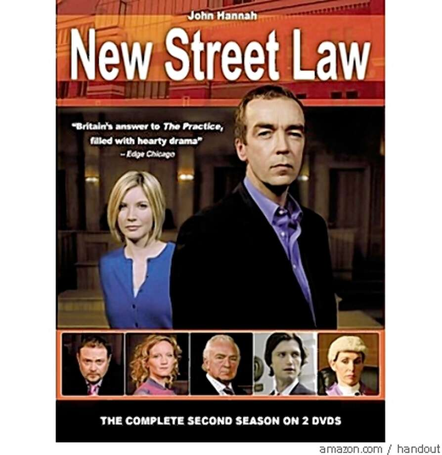 dvd cover NEW STREET LAW: COMPLETE SECOND SEASON Photo: Handout, Amazon.com