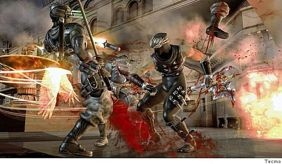 The carnage in Ninja Gaiden II is extreme even by videogame standards. Photo: Tecmo