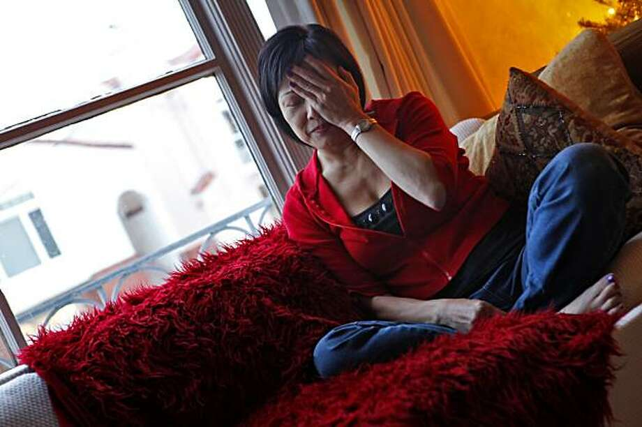 Susie Chin shares her story about being gang raped in Chinatown more than 30 years ago. Photo: Lacy Atkins, The Chronicle
