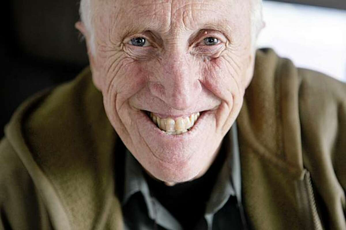 Stewart Brand, founder of the Whole Earth Catalog and author of Whole Earth Discipline, poses for a portrait.