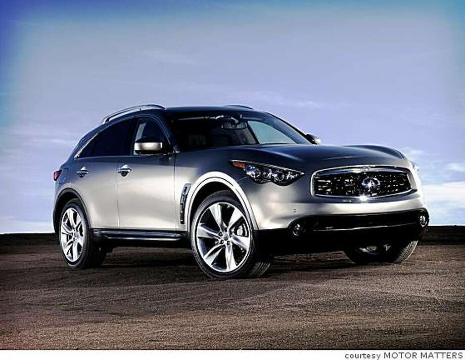 The 2009 Infiniti FX enters its third generation with more style, power and agility. Photo: Courtesy MOTOR MATTERS