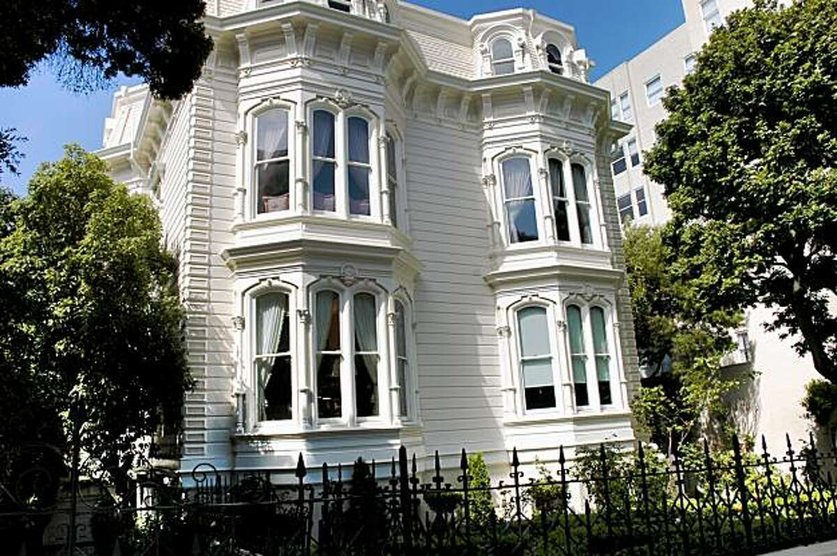 Built in 1875 by Ephraim Burr, one of San Francisco's earliest mayors, five bedroom, four and a half bathroom 1772 Vallejo Street survived the 1906 earthquake. It's priced at $6,995,000, or about $999 per square foot.